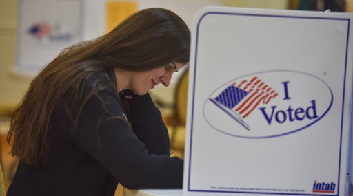 Danica Roem, transgender candidate in VA - voting and campaigning