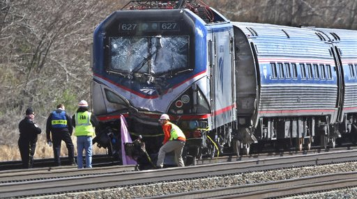 Amtrak Train Derails Pennsylvania