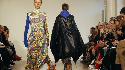 Britain London Fashion Week Pringle of Scotland