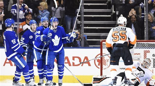 Flyers Maple Leafs Hockey