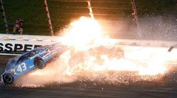 APTOPIX NASCAR Kansas Auto Racing
