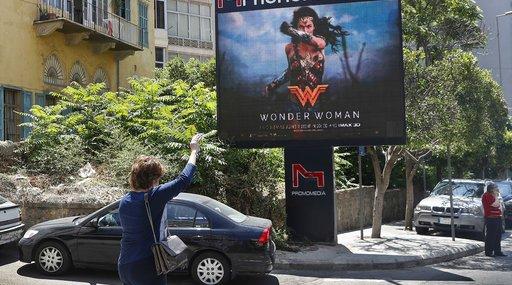 Mideast Wonder Woman