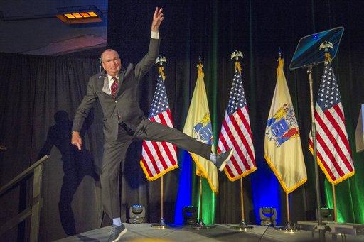 APTOPIX New Jersey Governors Race