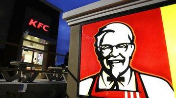 KFC Sandwich to Space