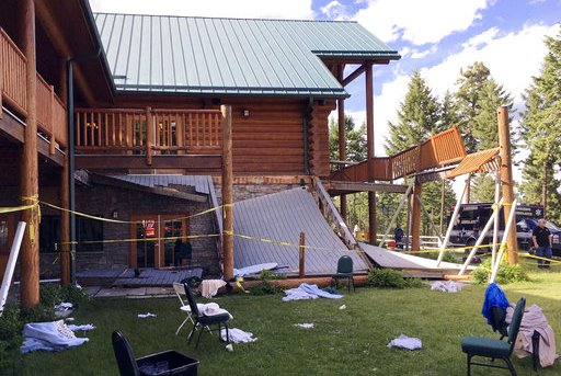 Lodge Deck Collapse