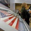 Sept 11 Ground Zero Flag