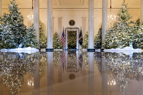 Image result for Melania Trump to Continue This White House Christmas Tradition