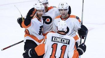 Flyers Senators Hockey