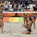 APTOPIX Rio Olympics Beach Volleyball Women