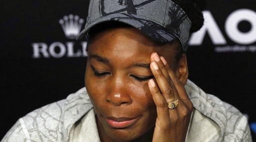 Venus Williams Crash Tennis
