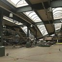 Train Hits Station Investigation