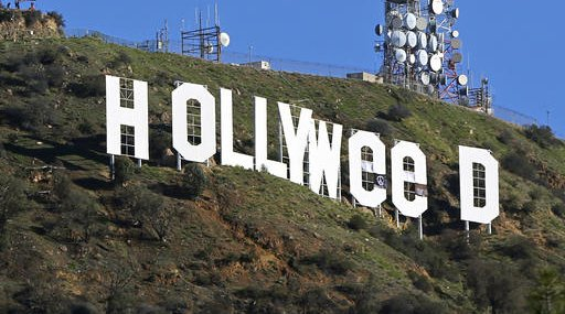 Hollywood Sign Vandalized