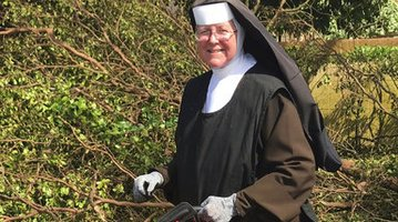 Irma Chain Saw Nun