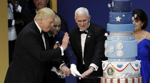 Trump Inaugural Cake