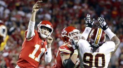 Redskins Chiefs Football
