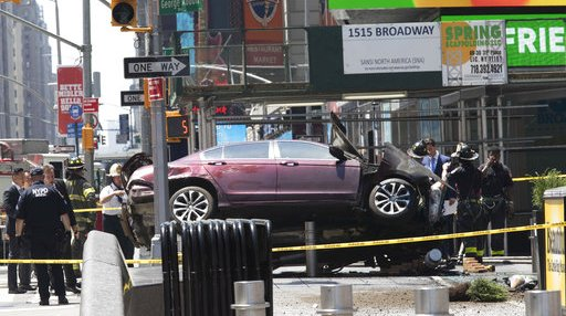 Times Square Crash Security Barriers