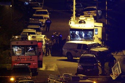 Officer Shot Tacoma