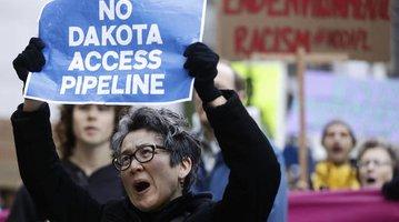 Oil Pipeline Protest Philadelphia