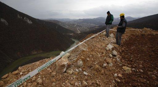 Bosnia landslide