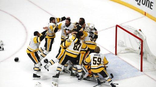 APTOPIX Stanley Cup Penguins Predators Hockey