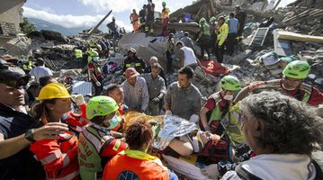 Italy Quake Survival