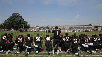 High Schools Anthem Protest Football