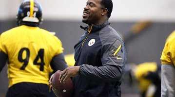Steelers Assistant Coach Charges Football