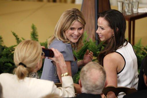 Obama Bush Daughters