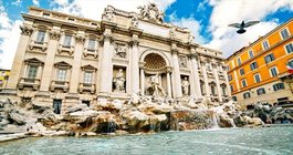 Limited - Trevi Fountain in Italy