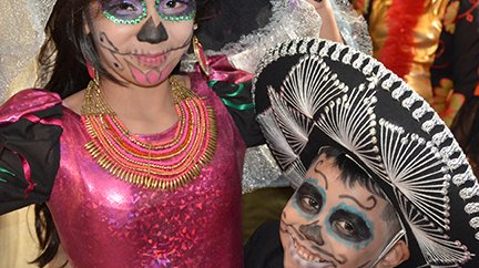 Day of the Dead celebration at Penn Museum