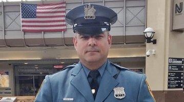 New Jersey Transit police officer Victor Ortiz