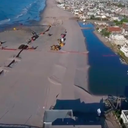 WATCH: Drone flies over 'Lake Christie' in Margate