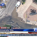 Water Main Break University City