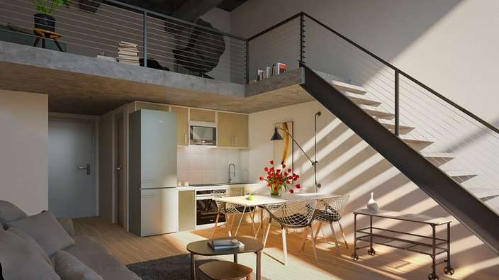 Here S What The Apartments Inside The Historic West
