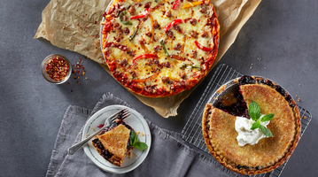 Whole Foods pizza, pies